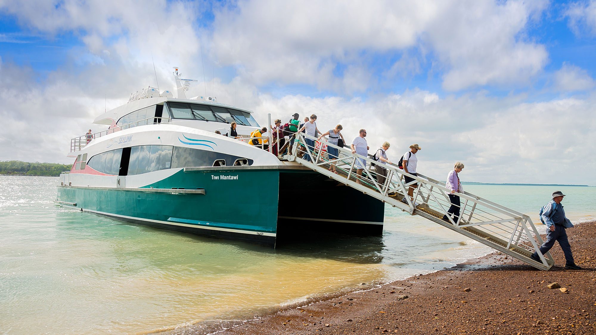 Tiwi Aboriginal Cultural Experience by ferry